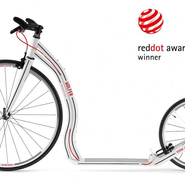 Yedoo Wolfer získal v roce 2016 ocenění Red Dot Award | Zdroj foto Jaroslav Juřica