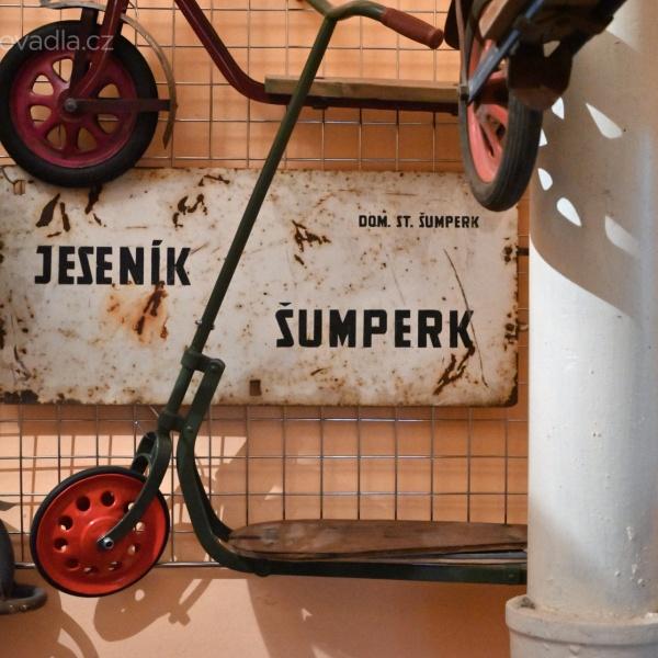 Koloběžky Nistler –z koloběžkového muzea