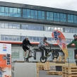 Trial Riders in Hama Germany