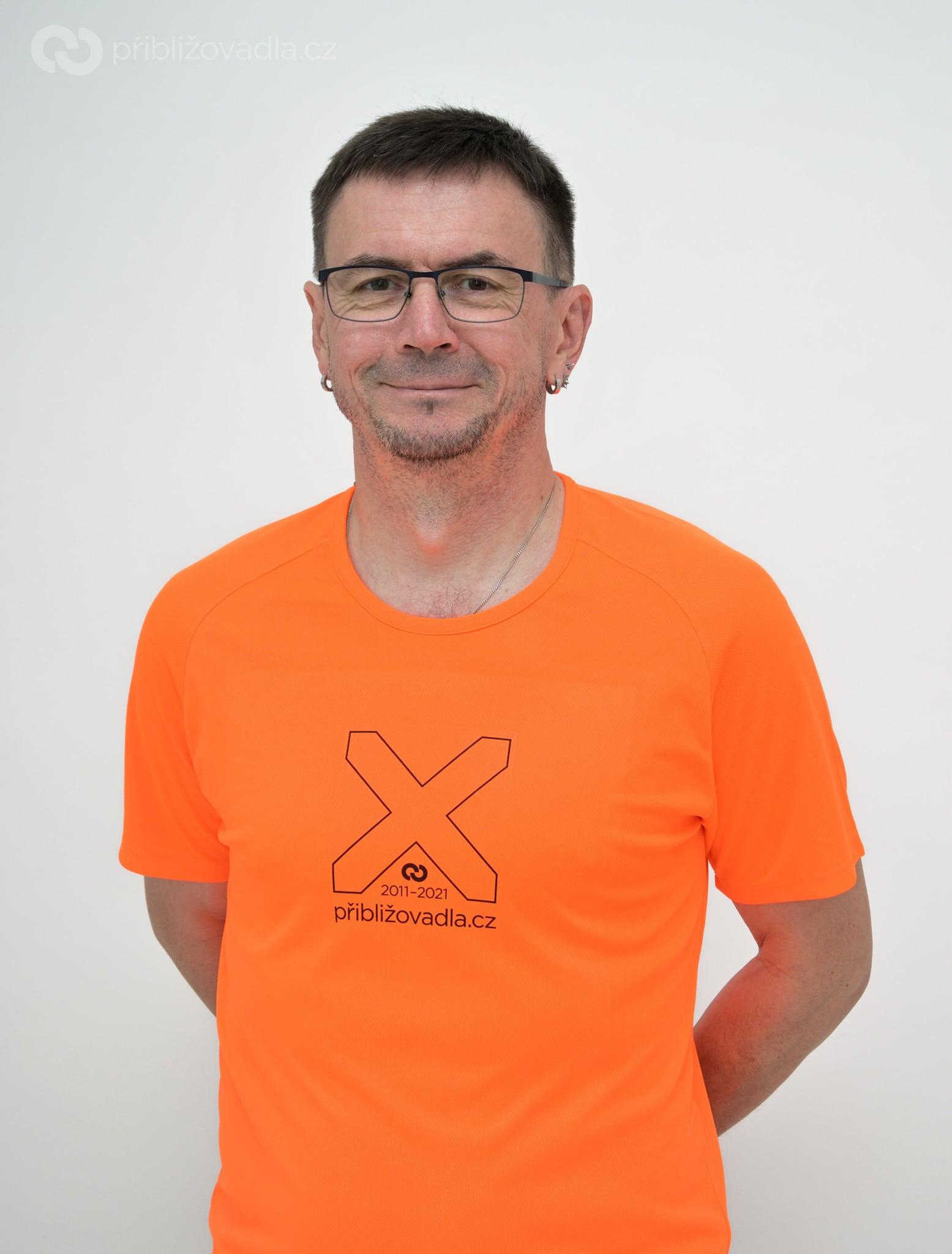 Výroční sportovní tričko Přibližovadel.cz