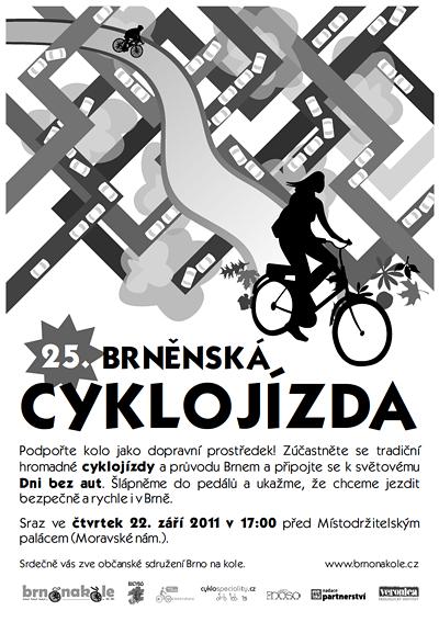 25. brněnská cyklojízda