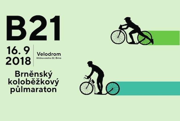 B21: Brněnský koloběžkový půlmaraton