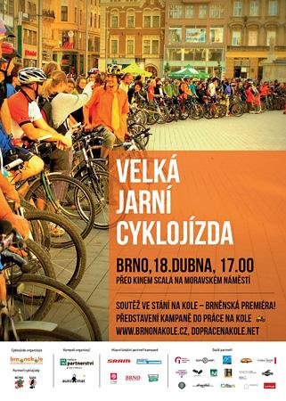 Cyklojízda Brno 18. dubna 2013
