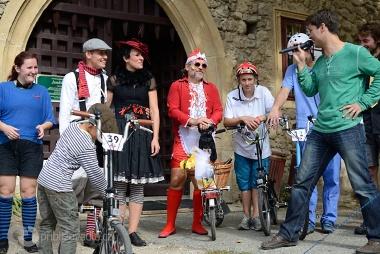 Festival Cyklospecialit a MČR Brompton 2012