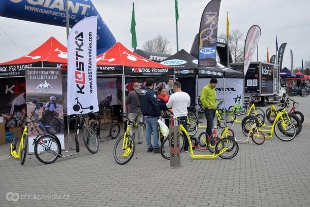 For Bikes 2019 –venkovní stánek Kostka - kolobka
