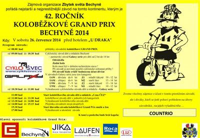 Grand Prix Bechyně 2014