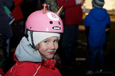 Jednokolky Try One na Vánočnímm zvonění v Kohoutovicích 2013