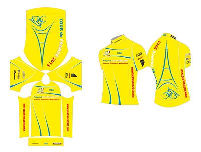 Cyklistický dres Kick France 2013