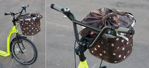 KLICKfix Bikebasket – Stylový nákupní koš oceněný v roce 2007 prestižní cenou Red Dot Design award. | Cena 1 399 Kč + adaptér