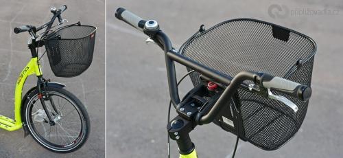 KLICKfix Uni Plus – Drátěný koš s držadlem pro libovolné využití. Úchyt KLICKfix lze namontovat ve čtyřech volitelných výškách. Objem 18 litrů, nosnost 7 kg. | Cena 559 Kč + adaptér
