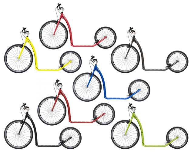 Kostka Tour Max (G6) v sedmi barvách. Jedna se vám musí líbit, i když… já bych chtěl bílou :-)
