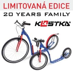 20 let Kostka - kolobka –limitovaná edice koloběžek
