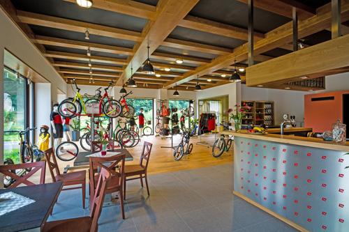 Kostka-kolobka – nový showroom