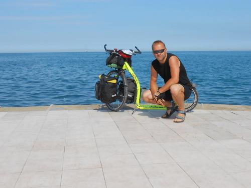 Martin Hospodka –Na koloběžce k Jadranu