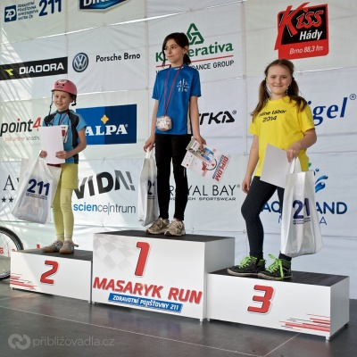 Masaryk run 2015 – koloběžky