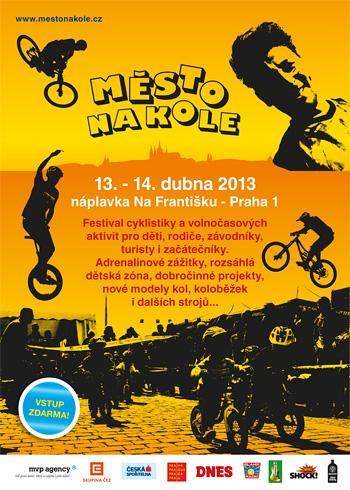 Město na kole 2013