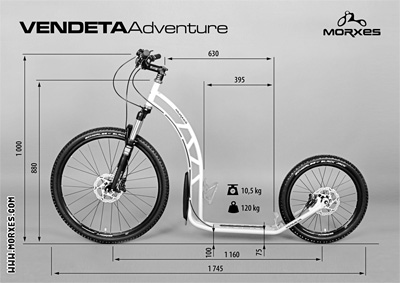 Morxes Vendeta 26/20 Adventure