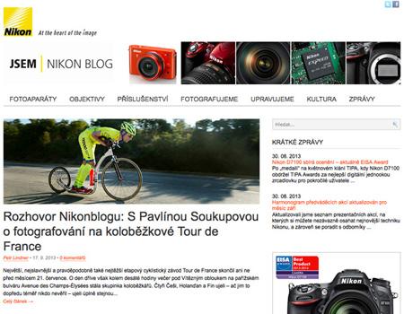 Nikonblog-cz – rozhovor s Pavlínou Soukupovou