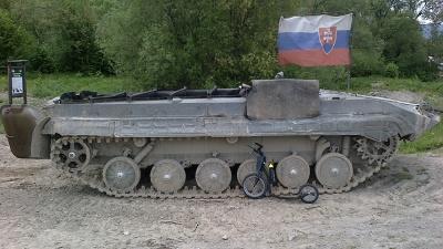 V Podbielu se můžete projet tankem