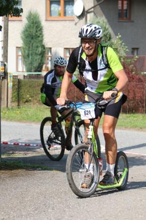 Rallye Sudety 2015 na koloběžkách