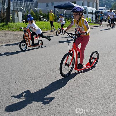 Ze závodů dětí v Moravské Třebové