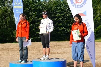 Rollo Liga 2012 – Jablonec nad Nisou 2. 6. – Ženy: 1. Michaela Balatková, 2. Patricie Kadlecová, 3. Alena Kupilíková  | Foto Jan Horák