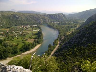 Řeka Neretva | Foto Václav Pechr
