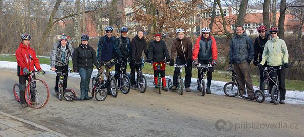 Silvestrovské koloběhání 2012 v Brně