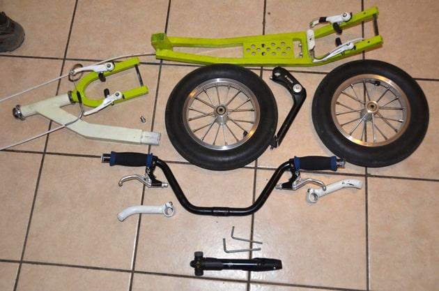 Skládací K-bike K5 z dílny Pepe Kvity | Foto Pepe Kvita