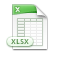 Výsledky ve formátu XLSX (Microsoft Excel)