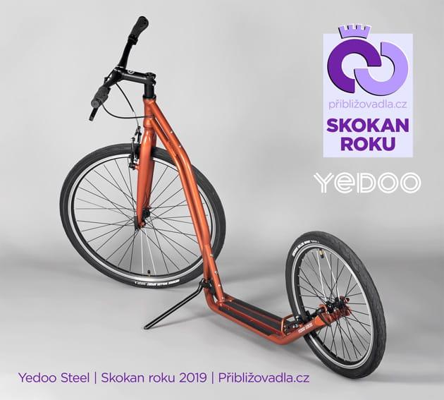 Yedoo Steel | Skokan roku 2019 | Priblizovadla.cz