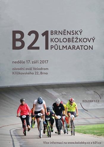 Brněnský koloběžkový půlmaraton 2017