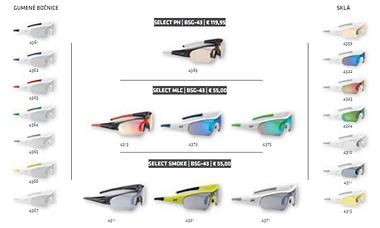 Cyklistické brýle BBB Select BSG-43