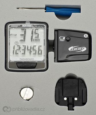 Cyklocomputer BBB Dashboard BCP-15W