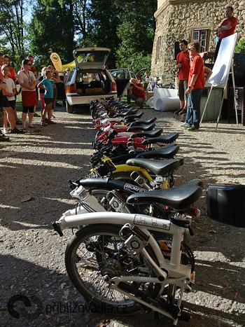 Festival Cyklospecialit a MS Brompton 2011