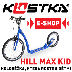 Kostka Hill Max Kid –koloběžka, která roste s dětmi