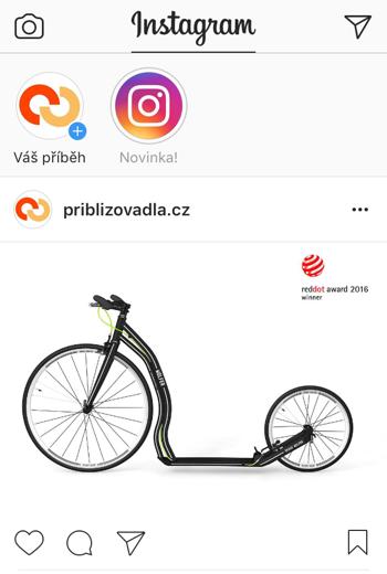 Přibližovadla.cz na Instagramu