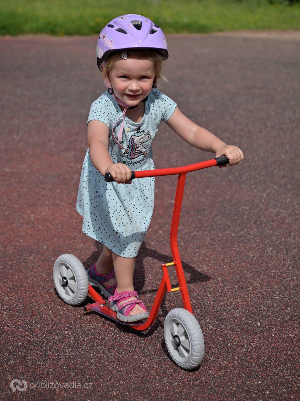 Adélka na K-bike v roce 2020