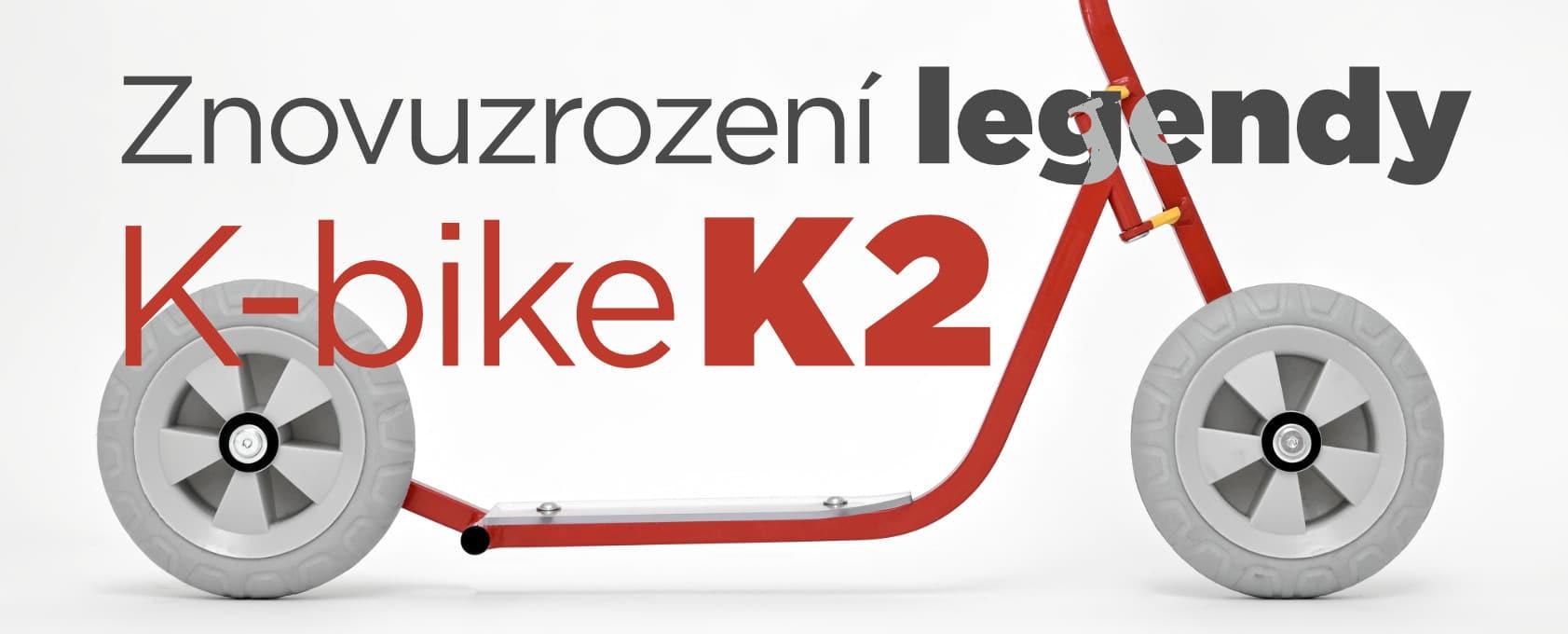 Dětská koloběžka K-bike K2 –test
