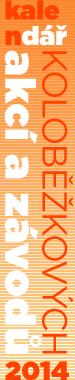 Kalendář koloběžkových akcí 2014