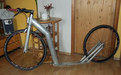 """2× 26"""" prototyp Milana Čtvrtníka"""