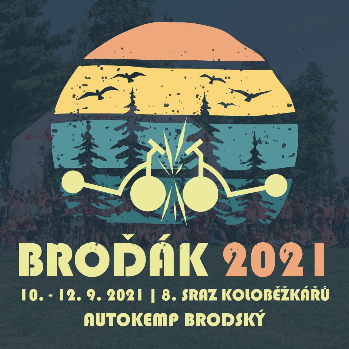 Sraz koloběžkářů Broďák 2021