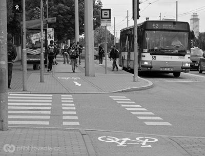 Ve městě na kole