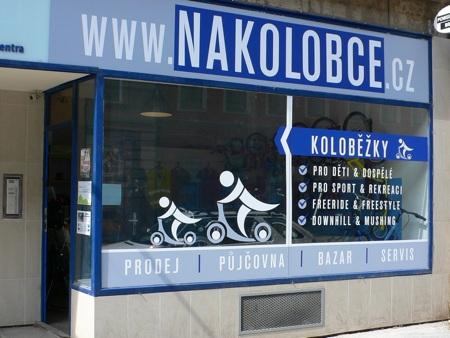 Obchod Nakolobce.cz v Brně | Foto Nakolobce.cz