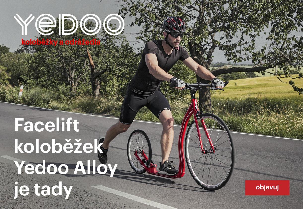 Facelift koloběžek Yedoo Alloy je tady