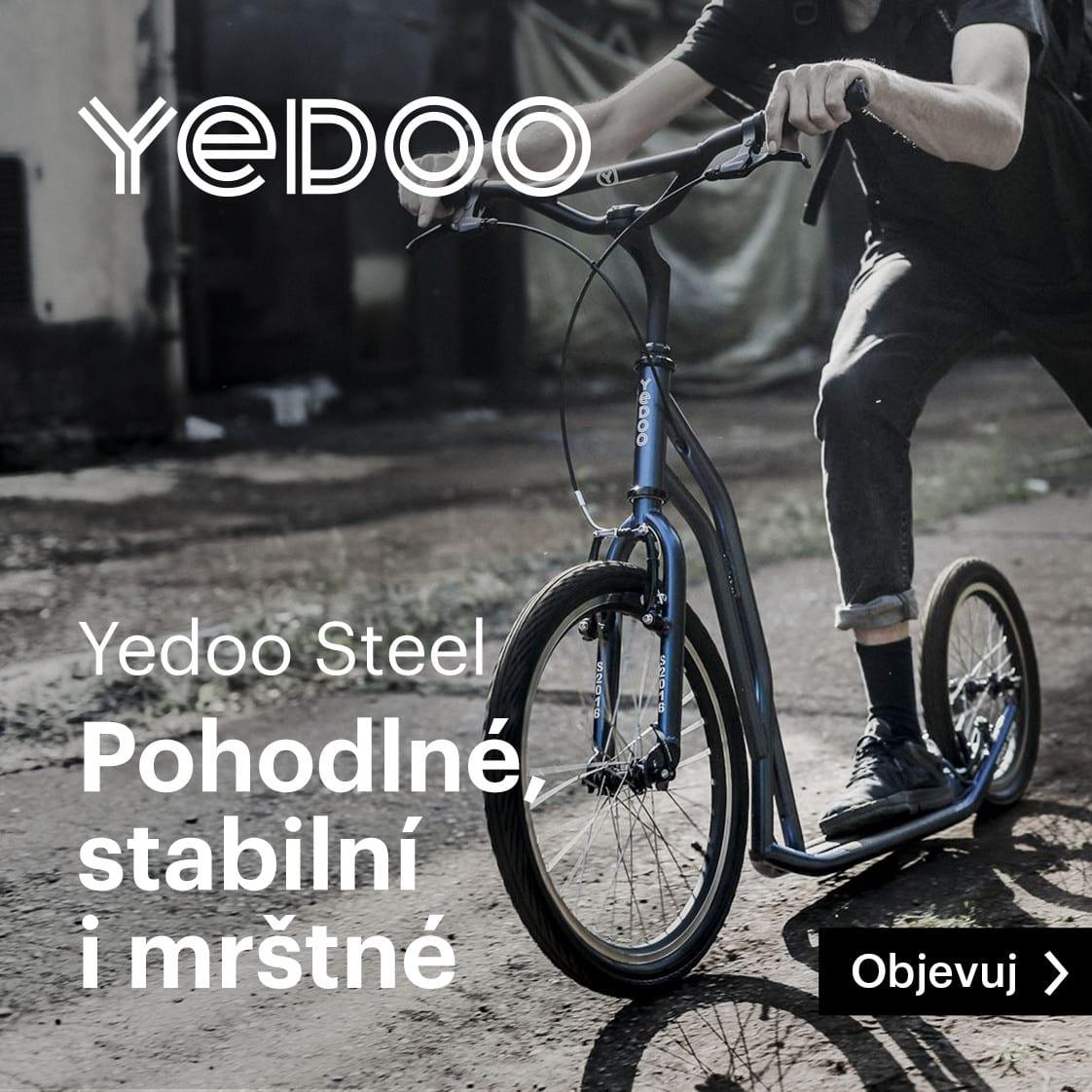 Koloběžky Yedoo Steel