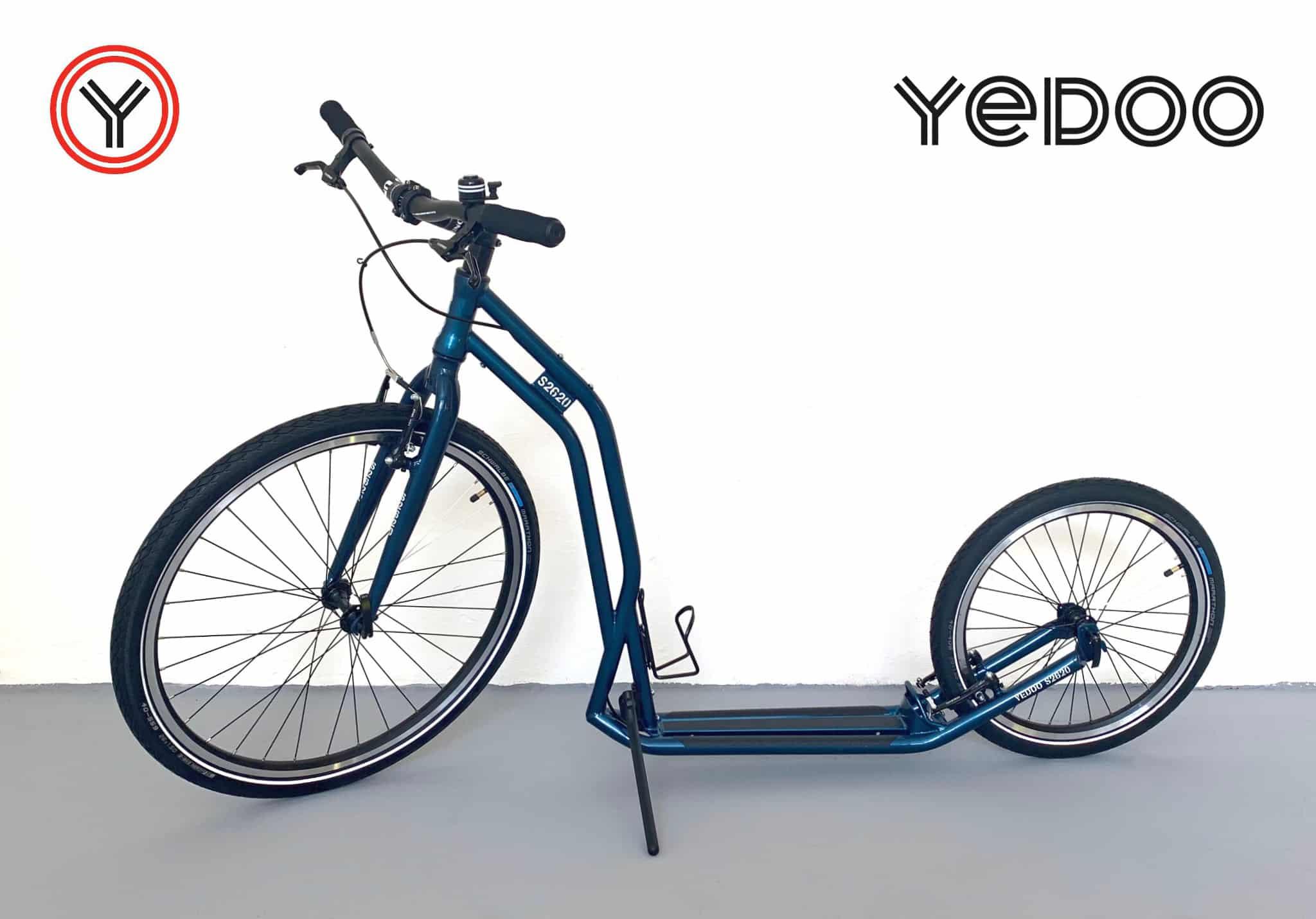 Druhá hlavní cena –koloběžka Yedoo Steel S2620 | sponzoruje Yedoo